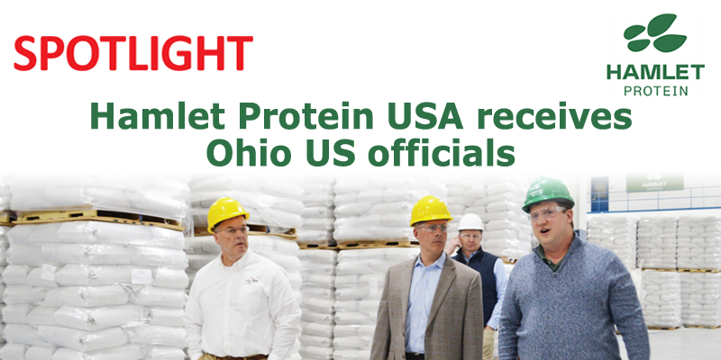 Hamlet Protein USA receives Ohio US officials